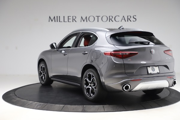 New 2020 Alfa Romeo Stelvio Ti Q4 for sale $54,095 at Rolls-Royce Motor Cars Greenwich in Greenwich CT 06830 6