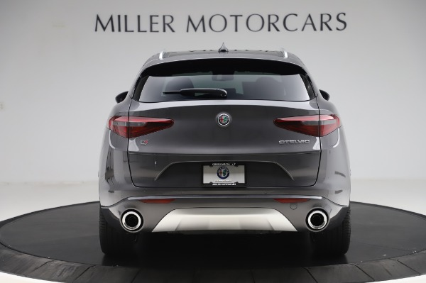 New 2020 Alfa Romeo Stelvio Ti Q4 for sale $54,095 at Rolls-Royce Motor Cars Greenwich in Greenwich CT 06830 7