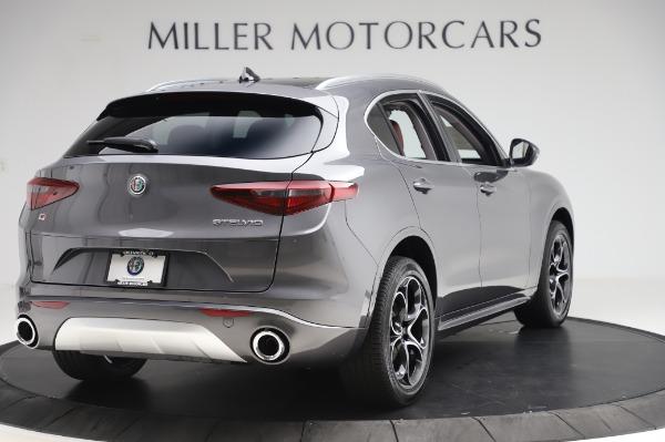 New 2020 Alfa Romeo Stelvio Ti Q4 for sale $54,095 at Rolls-Royce Motor Cars Greenwich in Greenwich CT 06830 8