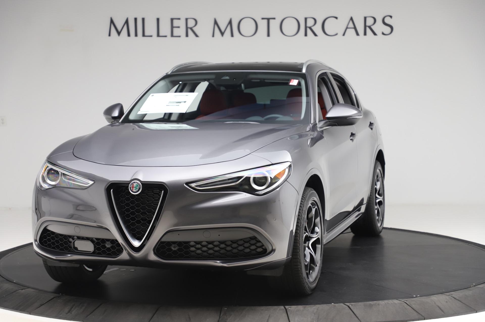 New 2020 Alfa Romeo Stelvio Ti Q4 for sale $54,095 at Rolls-Royce Motor Cars Greenwich in Greenwich CT 06830 1