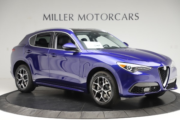 New 2020 Alfa Romeo Stelvio Ti Q4 for sale $50,695 at Rolls-Royce Motor Cars Greenwich in Greenwich CT 06830 10