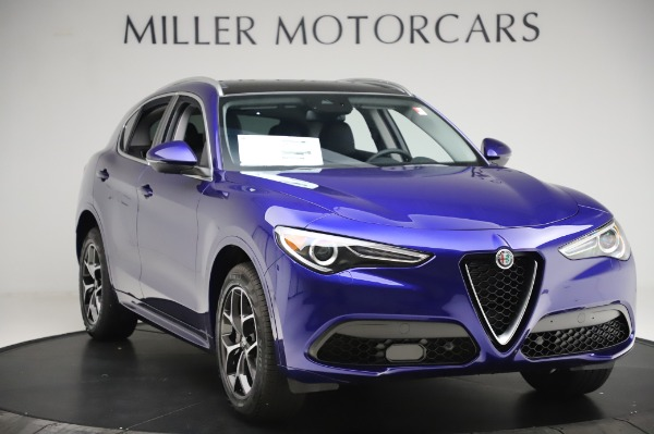 New 2020 Alfa Romeo Stelvio Ti Q4 for sale $50,695 at Rolls-Royce Motor Cars Greenwich in Greenwich CT 06830 11
