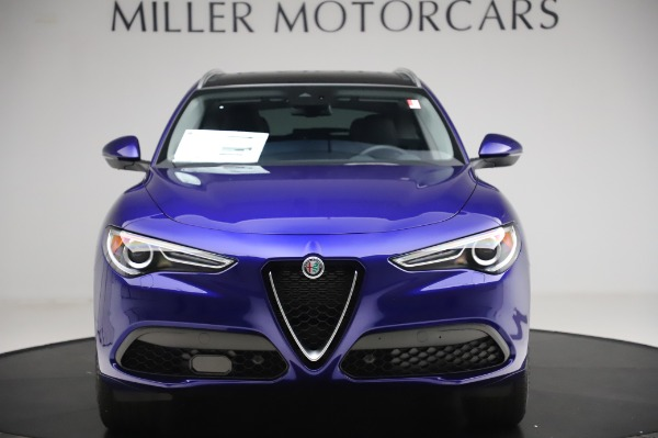 New 2020 Alfa Romeo Stelvio Ti Q4 for sale $50,695 at Rolls-Royce Motor Cars Greenwich in Greenwich CT 06830 12