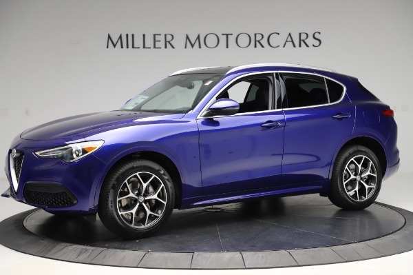 New 2020 Alfa Romeo Stelvio Ti Q4 for sale $50,695 at Rolls-Royce Motor Cars Greenwich in Greenwich CT 06830 2
