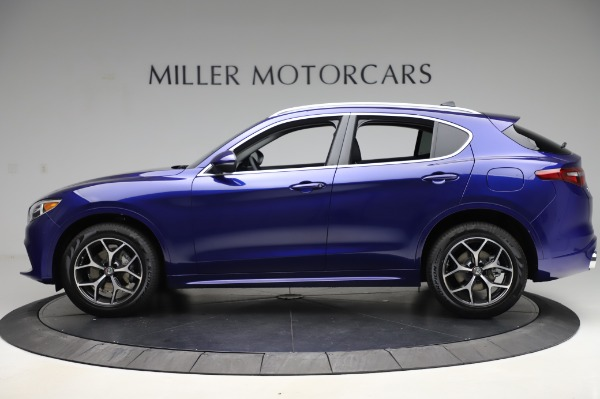 New 2020 Alfa Romeo Stelvio Ti Q4 for sale $50,695 at Rolls-Royce Motor Cars Greenwich in Greenwich CT 06830 3
