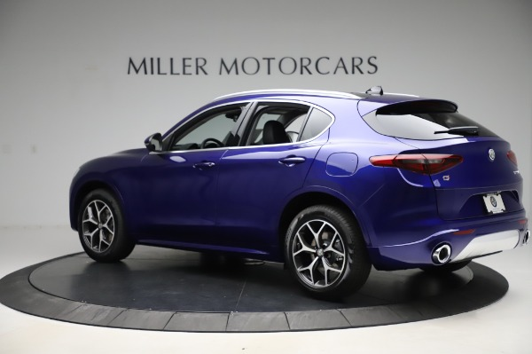 New 2020 Alfa Romeo Stelvio Ti Q4 for sale $50,695 at Rolls-Royce Motor Cars Greenwich in Greenwich CT 06830 4