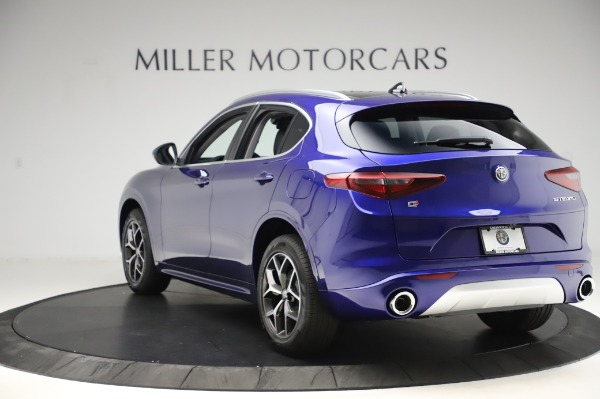 New 2020 Alfa Romeo Stelvio Ti Q4 for sale $50,695 at Rolls-Royce Motor Cars Greenwich in Greenwich CT 06830 5