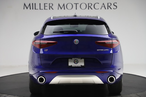 New 2020 Alfa Romeo Stelvio Ti Q4 for sale $50,695 at Rolls-Royce Motor Cars Greenwich in Greenwich CT 06830 6