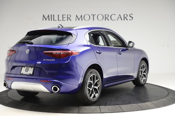 New 2020 Alfa Romeo Stelvio Ti Q4 for sale $50,695 at Rolls-Royce Motor Cars Greenwich in Greenwich CT 06830 7