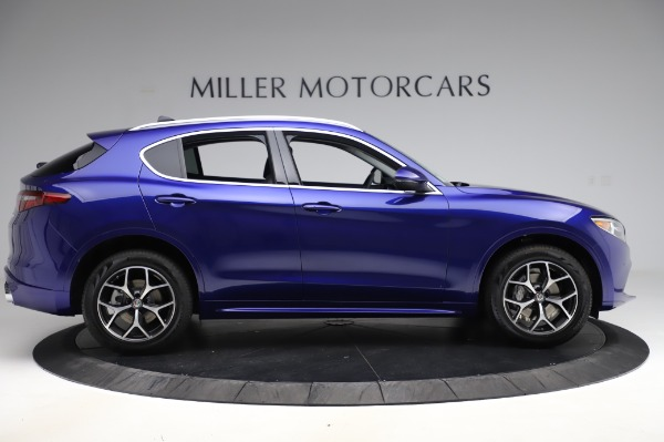 New 2020 Alfa Romeo Stelvio Ti Q4 for sale $50,695 at Rolls-Royce Motor Cars Greenwich in Greenwich CT 06830 9