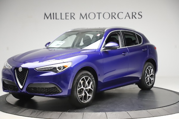 New 2020 Alfa Romeo Stelvio Ti Q4 for sale $50,695 at Rolls-Royce Motor Cars Greenwich in Greenwich CT 06830 1