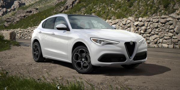 New 2020 Alfa Romeo Stelvio Ti Lusso Q4 for sale $54,145 at Rolls-Royce Motor Cars Greenwich in Greenwich CT 06830 2