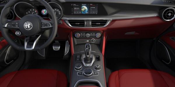 New 2020 Alfa Romeo Stelvio Ti Lusso Q4 for sale $54,145 at Rolls-Royce Motor Cars Greenwich in Greenwich CT 06830 4