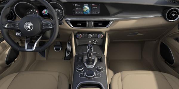 New 2020 Alfa Romeo Stelvio Ti Lusso Q4 for sale $55,045 at Rolls-Royce Motor Cars Greenwich in Greenwich CT 06830 4