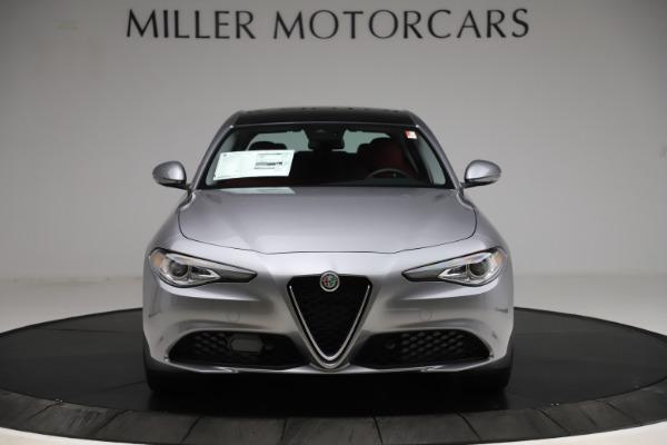 New 2020 Alfa Romeo Giulia Ti Q4 for sale Call for price at Rolls-Royce Motor Cars Greenwich in Greenwich CT 06830 12