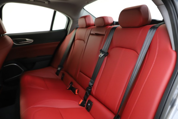 New 2020 Alfa Romeo Giulia Ti Q4 for sale Call for price at Rolls-Royce Motor Cars Greenwich in Greenwich CT 06830 19