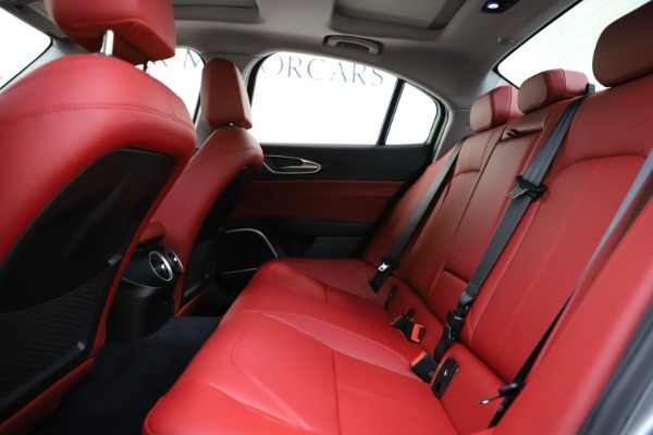 New 2020 Alfa Romeo Giulia Ti Q4 for sale Call for price at Rolls-Royce Motor Cars Greenwich in Greenwich CT 06830 20