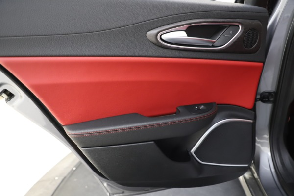 New 2020 Alfa Romeo Giulia Ti Q4 for sale Call for price at Rolls-Royce Motor Cars Greenwich in Greenwich CT 06830 22