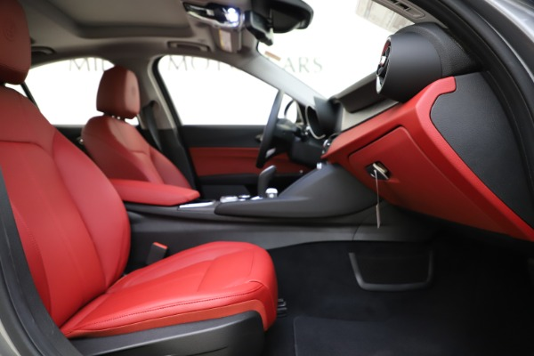 New 2020 Alfa Romeo Giulia Ti Q4 for sale Call for price at Rolls-Royce Motor Cars Greenwich in Greenwich CT 06830 24