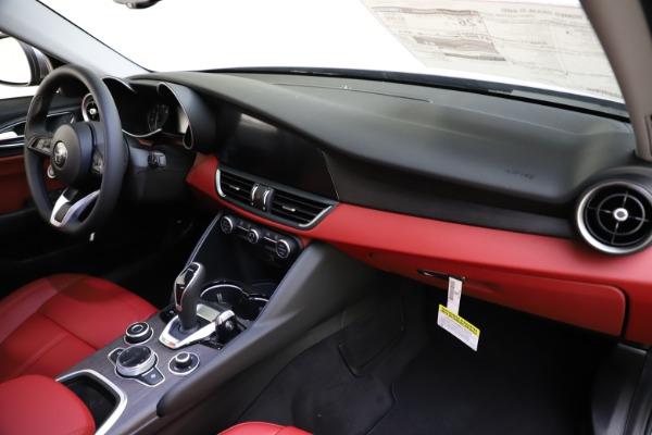 New 2020 Alfa Romeo Giulia Ti Q4 for sale Call for price at Rolls-Royce Motor Cars Greenwich in Greenwich CT 06830 25