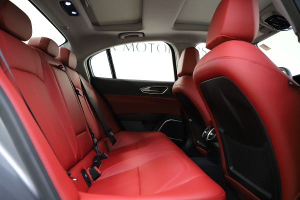 New 2020 Alfa Romeo Giulia Ti Q4 for sale Call for price at Rolls-Royce Motor Cars Greenwich in Greenwich CT 06830 28