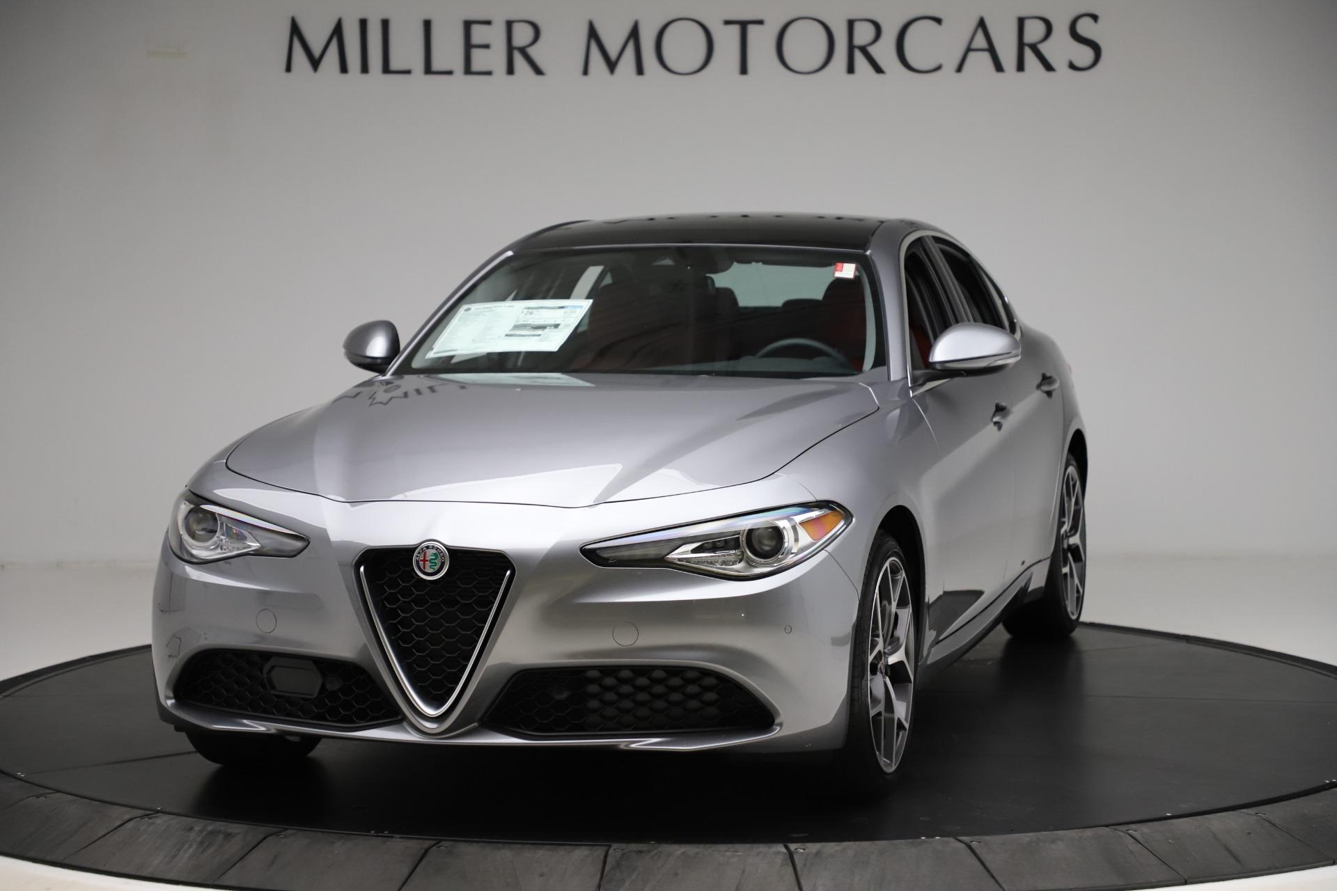 New 2020 Alfa Romeo Giulia Ti Q4 for sale Call for price at Rolls-Royce Motor Cars Greenwich in Greenwich CT 06830 1