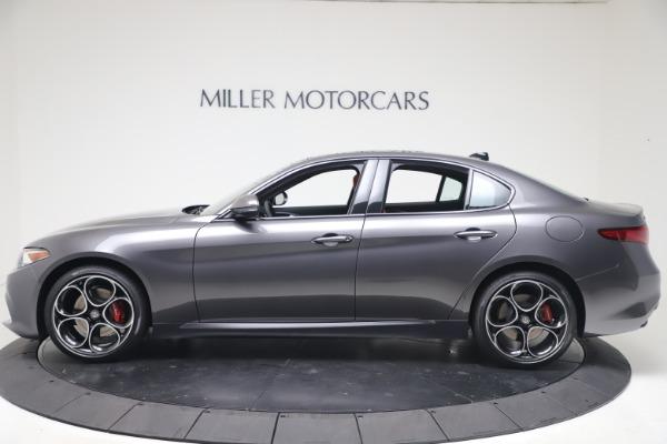 New 2020 Alfa Romeo Giulia Ti Sport Q4 for sale $51,095 at Rolls-Royce Motor Cars Greenwich in Greenwich CT 06830 3