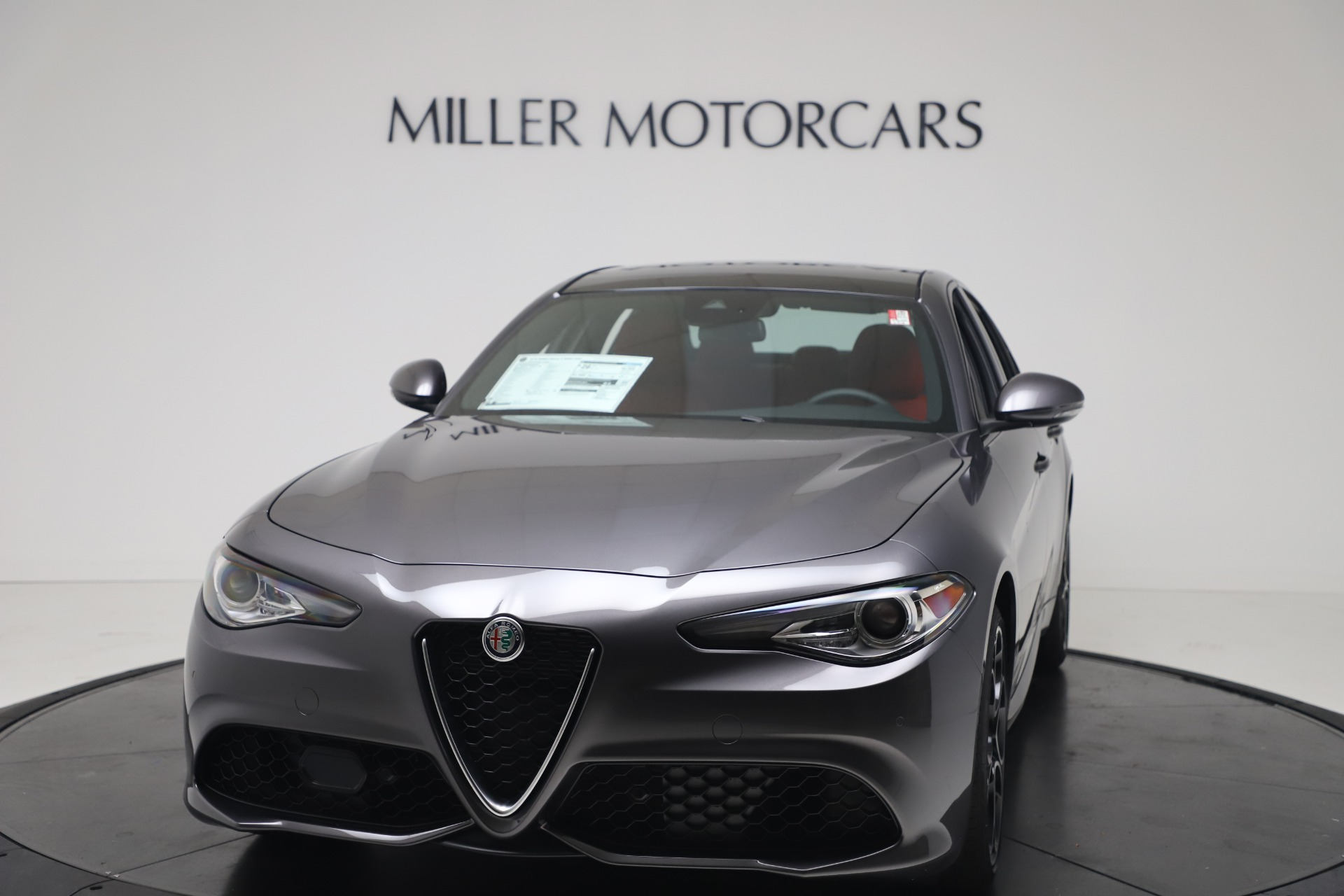 New 2020 Alfa Romeo Giulia Ti Sport Q4 for sale $51,095 at Rolls-Royce Motor Cars Greenwich in Greenwich CT 06830 1