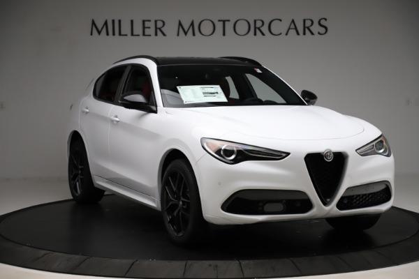 New 2020 Alfa Romeo Stelvio Ti Sport Q4 for sale $54,345 at Rolls-Royce Motor Cars Greenwich in Greenwich CT 06830 11