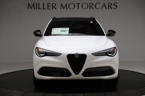 New 2020 Alfa Romeo Stelvio Ti Sport Q4 for sale $54,345 at Rolls-Royce Motor Cars Greenwich in Greenwich CT 06830 12