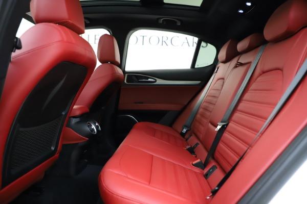 New 2020 Alfa Romeo Stelvio Ti Sport Q4 for sale $54,345 at Rolls-Royce Motor Cars Greenwich in Greenwich CT 06830 22