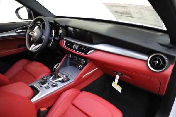 New 2020 Alfa Romeo Stelvio Ti Sport Q4 for sale $54,345 at Rolls-Royce Motor Cars Greenwich in Greenwich CT 06830 26