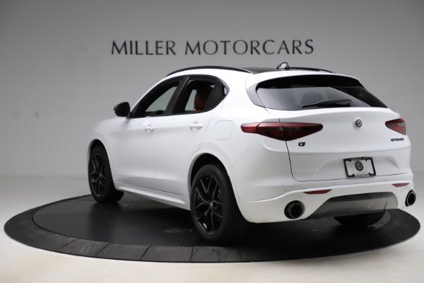 New 2020 Alfa Romeo Stelvio Ti Sport Q4 for sale $54,345 at Rolls-Royce Motor Cars Greenwich in Greenwich CT 06830 5