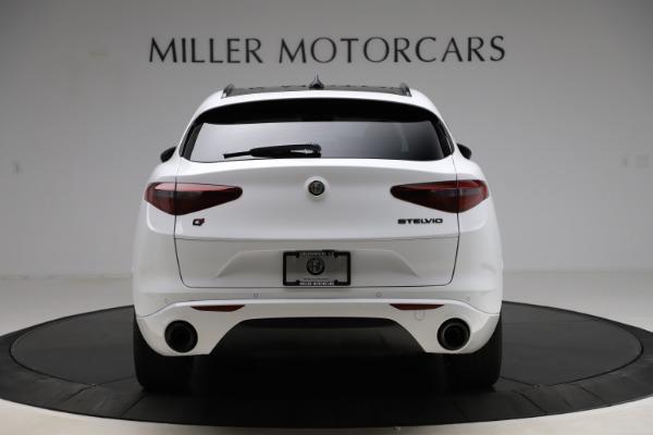 New 2020 Alfa Romeo Stelvio Ti Sport Q4 for sale $54,345 at Rolls-Royce Motor Cars Greenwich in Greenwich CT 06830 6