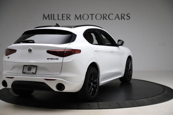 New 2020 Alfa Romeo Stelvio Ti Sport Q4 for sale $54,345 at Rolls-Royce Motor Cars Greenwich in Greenwich CT 06830 7