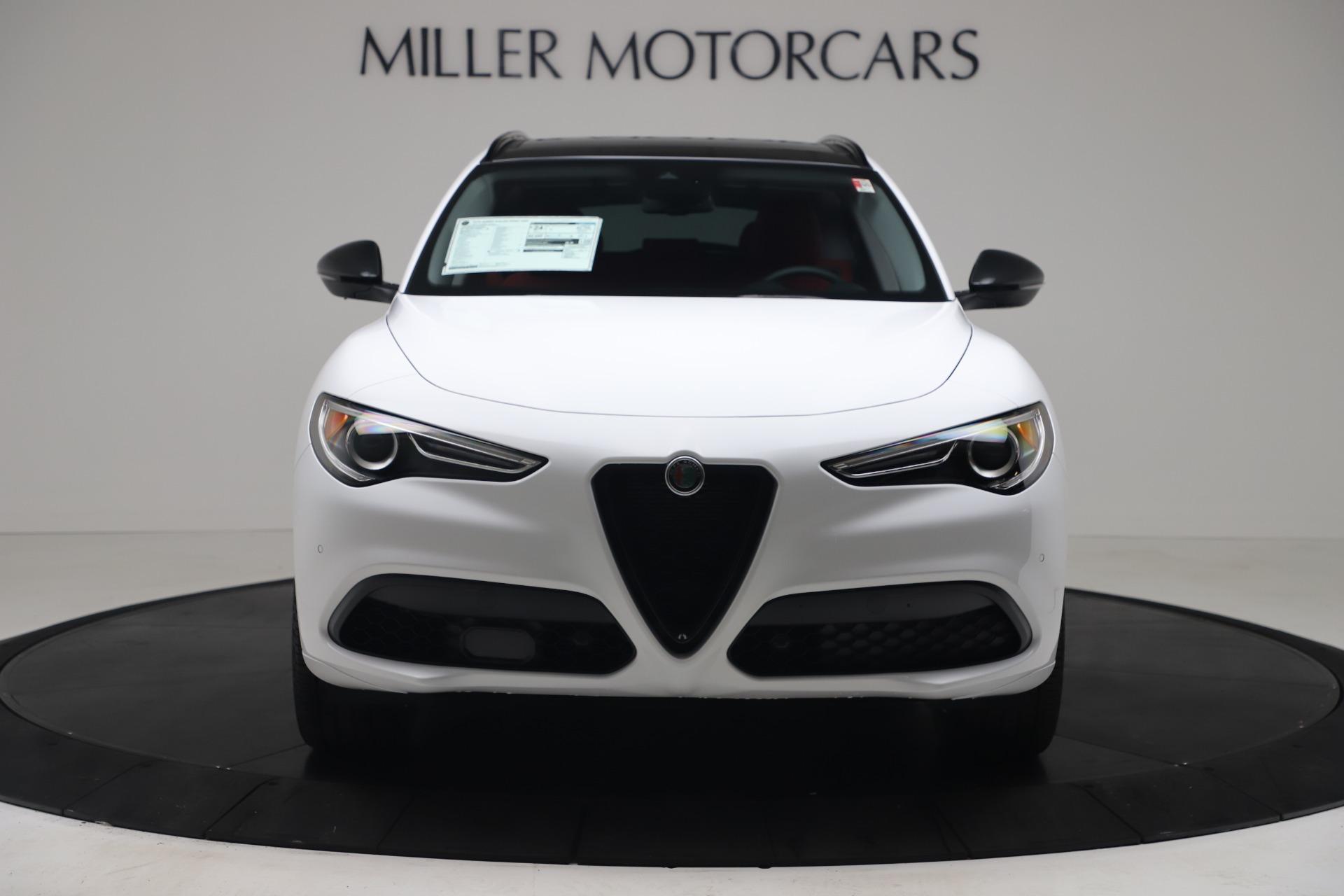 New 2020 Alfa Romeo Stelvio Ti Sport Q4 for sale $54,345 at Rolls-Royce Motor Cars Greenwich in Greenwich CT 06830 1