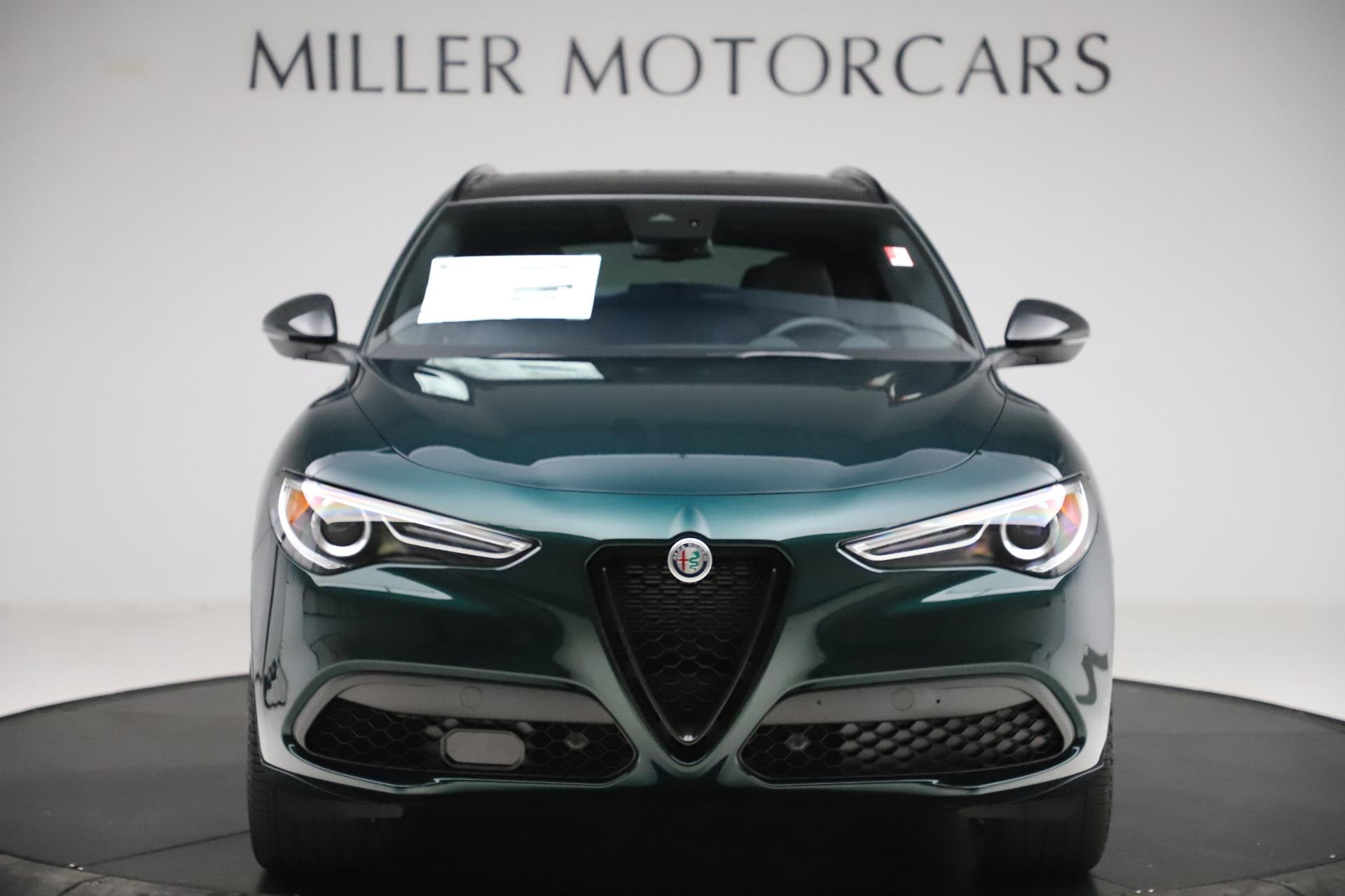 New 2020 Alfa Romeo Stelvio Q4 for sale $49,045 at Rolls-Royce Motor Cars Greenwich in Greenwich CT 06830 1