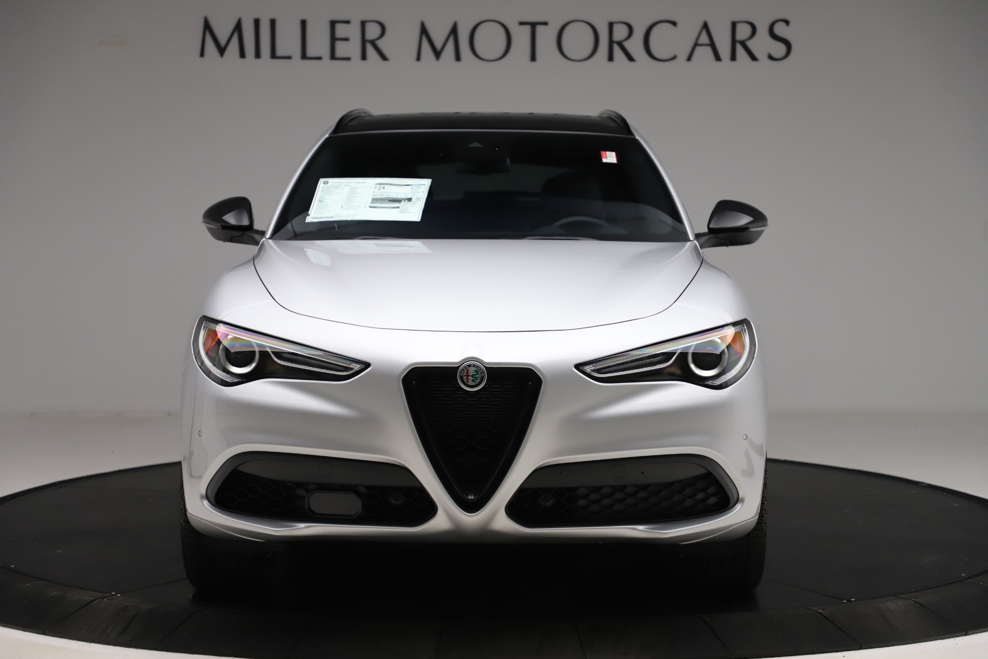 New 2020 Alfa Romeo Stelvio Ti Sport Q4 for sale $54,795 at Rolls-Royce Motor Cars Greenwich in Greenwich CT 06830 1