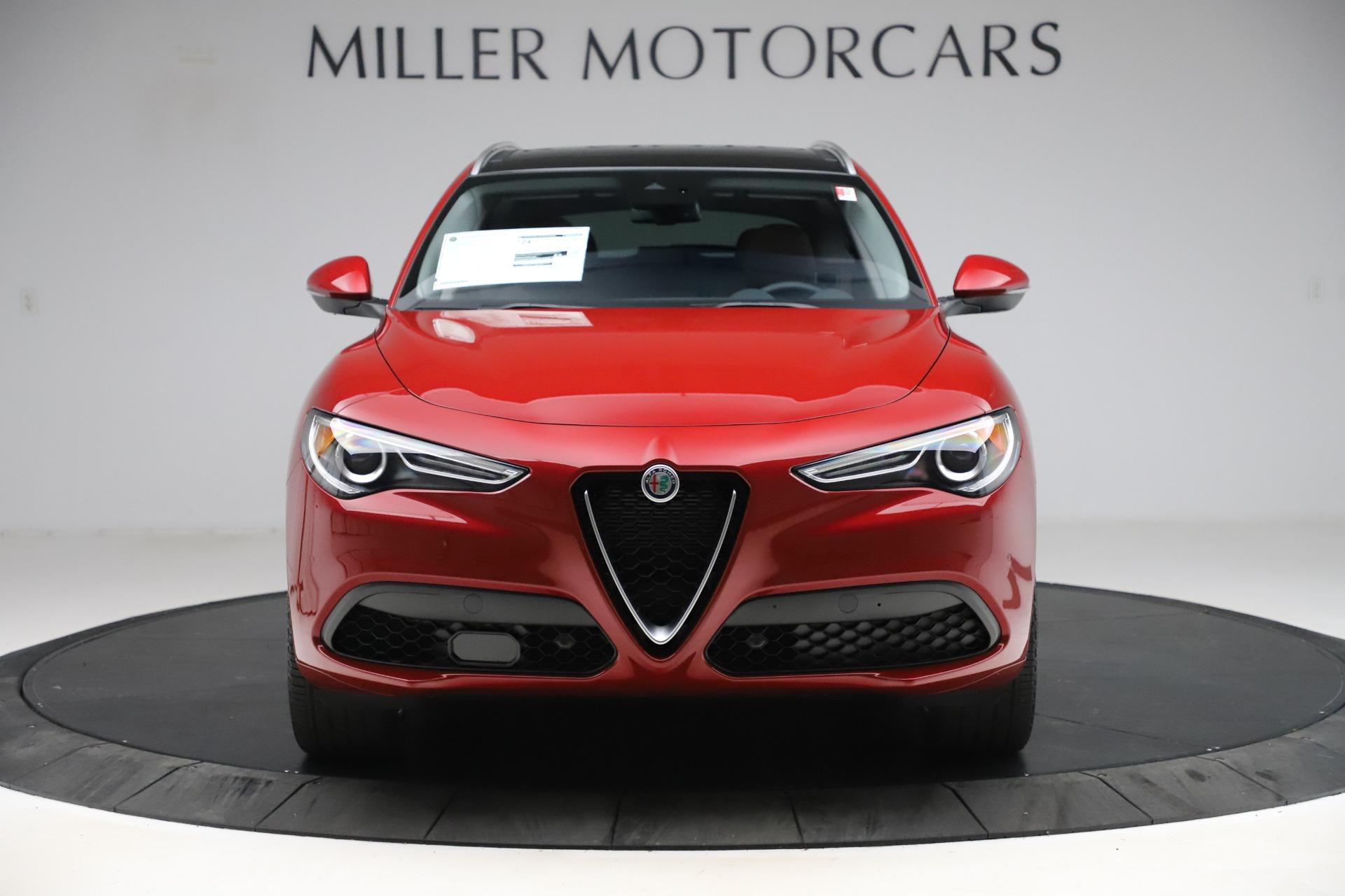 New 2020 Alfa Romeo Stelvio Ti Lusso Q4 for sale $56,495 at Rolls-Royce Motor Cars Greenwich in Greenwich CT 06830 1