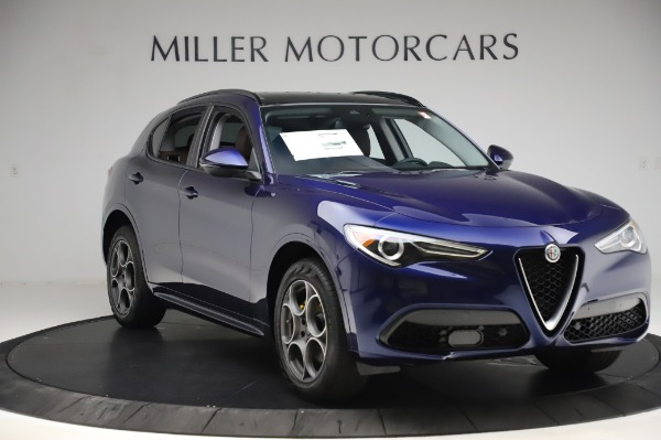 New 2020 Alfa Romeo Stelvio Sport Q4 for sale $50,895 at Rolls-Royce Motor Cars Greenwich in Greenwich CT 06830 11