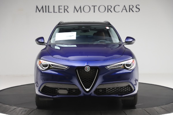 New 2020 Alfa Romeo Stelvio Sport Q4 for sale $50,895 at Rolls-Royce Motor Cars Greenwich in Greenwich CT 06830 12