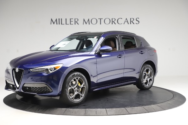 New 2020 Alfa Romeo Stelvio Sport Q4 for sale $50,895 at Rolls-Royce Motor Cars Greenwich in Greenwich CT 06830 2