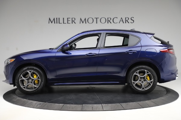 New 2020 Alfa Romeo Stelvio Sport Q4 for sale $50,895 at Rolls-Royce Motor Cars Greenwich in Greenwich CT 06830 3