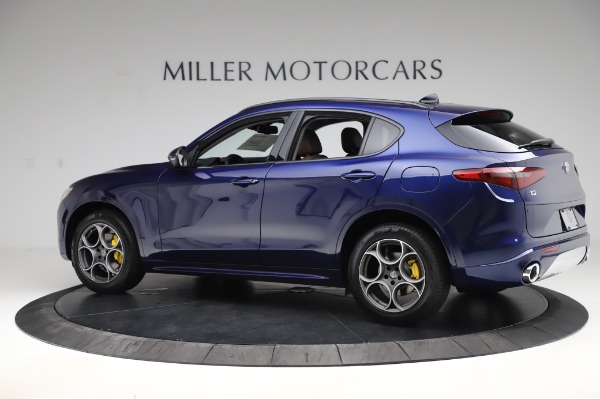 New 2020 Alfa Romeo Stelvio Sport Q4 for sale $50,895 at Rolls-Royce Motor Cars Greenwich in Greenwich CT 06830 4