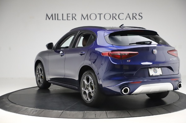 New 2020 Alfa Romeo Stelvio Sport Q4 for sale $50,895 at Rolls-Royce Motor Cars Greenwich in Greenwich CT 06830 5