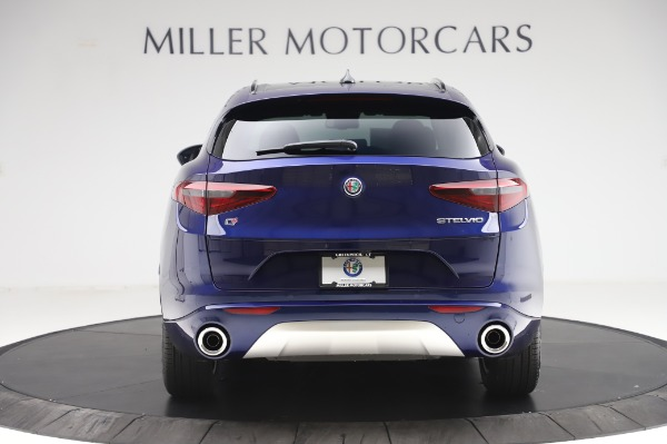 New 2020 Alfa Romeo Stelvio Sport Q4 for sale $50,895 at Rolls-Royce Motor Cars Greenwich in Greenwich CT 06830 6