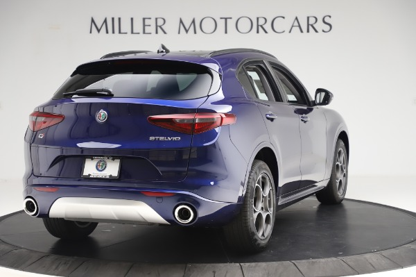 New 2020 Alfa Romeo Stelvio Sport Q4 for sale $50,895 at Rolls-Royce Motor Cars Greenwich in Greenwich CT 06830 7