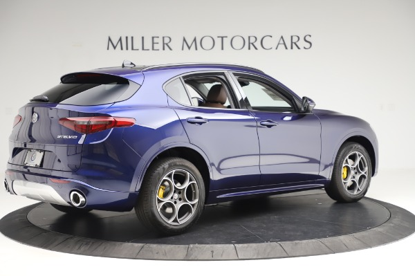 New 2020 Alfa Romeo Stelvio Sport Q4 for sale $50,895 at Rolls-Royce Motor Cars Greenwich in Greenwich CT 06830 8