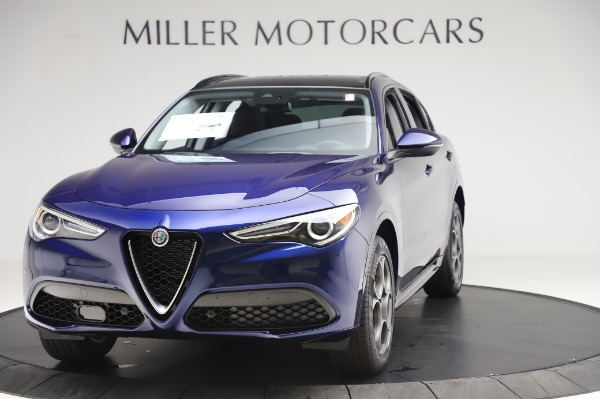 New 2020 Alfa Romeo Stelvio Sport Q4 for sale $50,895 at Rolls-Royce Motor Cars Greenwich in Greenwich CT 06830 1