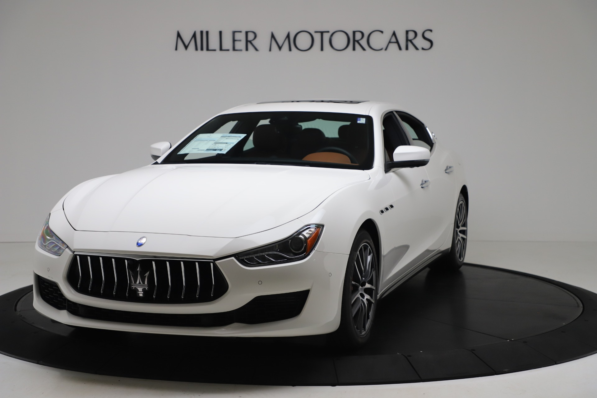 New 2020 Maserati Ghibli S Q4 for sale $84,735 at Rolls-Royce Motor Cars Greenwich in Greenwich CT 06830 1